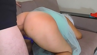 Mom Helped Her Son Relax With Anal Sex