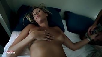 Naked Resting Step Mom - Nikki Brooks - Natural Tits