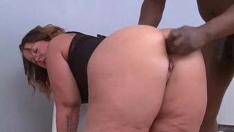 A Girl With A Huge Ass Gets Fucked By A Big Black Cock.