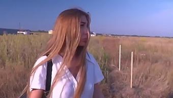 Fuck Russian Schoolgirl . Public Sex For Money