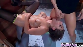 Deep Anal Sex On Tape With Big Curvy Ass Horny Girl (Abella Danger) Vid-02