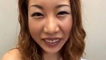 Ayumi Natsukawa Sucks Cocks And Is Recorded While Is Fucked