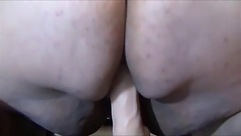 Bbw Solo Dildo Ride And Anal Play
