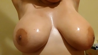 Titfucking A Dick With My Huge And Natural Tits