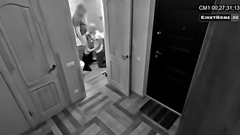 Hidden Cam - Husband Catches Wife With Lover!