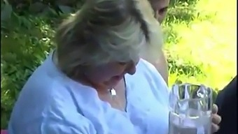 Old Fat Granny Fucked After A Picnic